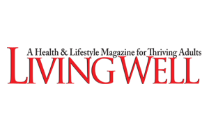 logo living well magazine